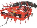 SUPPORTED S-SHANK CULTIVATOR WITH HYDRAULIC FOLDING SYSTEM